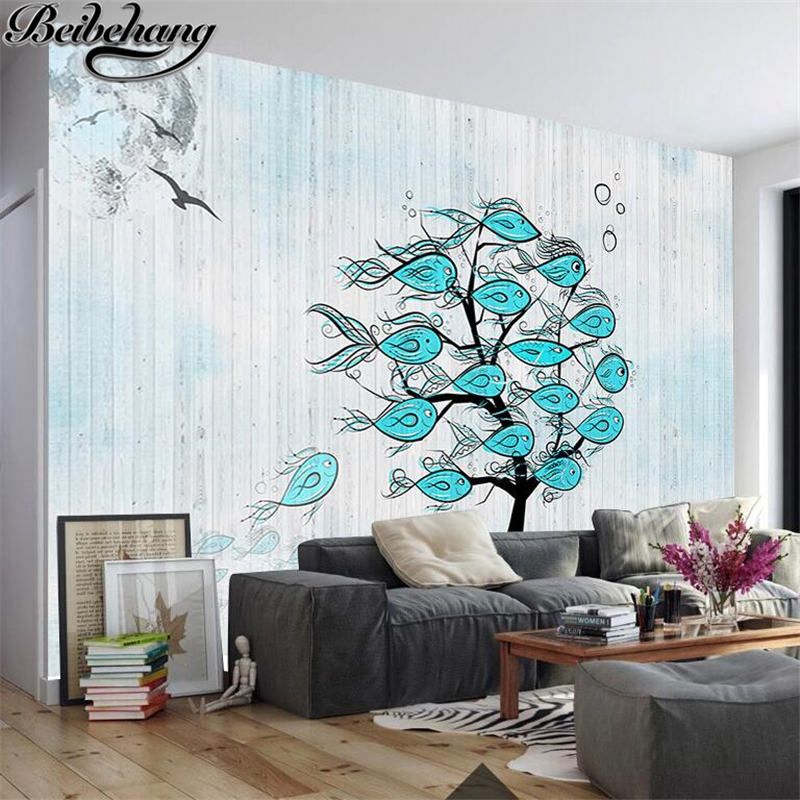 Beibehang Customized Large Wallpaper Mural 3d Nordic Style