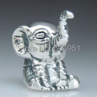 1PCS Lot European 925 Sterling Silver Elephant Charm Beads Fit Pandora Chamilia Style Bracelets Jewelry