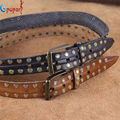 2016 new cowhide genuine leather belts for men brand strap male pin buckle fancy vintage jeans cintos freeshipping PB215