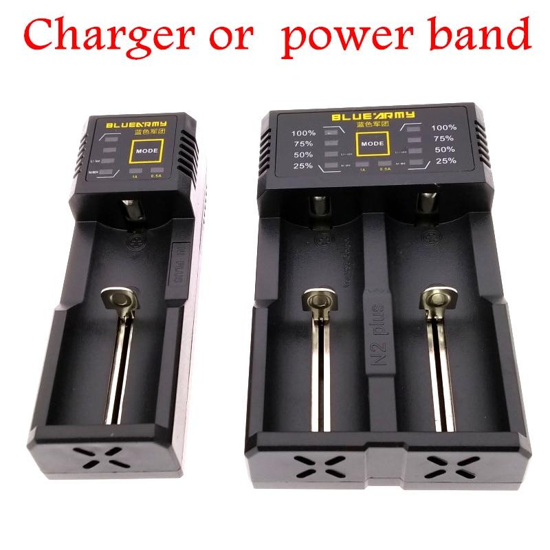 Оригинальное зарядное устройство 18650 Li-Ion 14500 16340 26650 Ni-MH Ni-Cd AAA AA Rechareable зарядное устройство Мобильная мощность USB выход