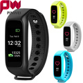 PINWEI L30t Smart Band Bracelet Full color TFT-LCD Screen Dynamic Heart Rate Monitor Bluetooth Smartband for IOS Android Phone