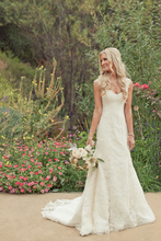 Vestido De Noiva Sereia Vintage Lace V Neck Mermaid Wedding Dress 2015 Boho Bridal Gown Robe Marriage Casamento Boda