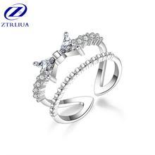 Модные темпераментные ювелирные изделия из стерлингового серебра