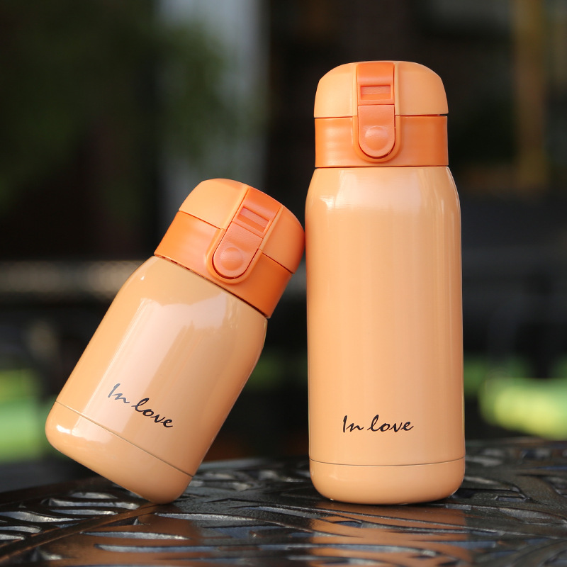 200ml and 360ml Mini Thermal Flask in Cute Candy Pattern for Heat Preservation Suitable for School Kids 4