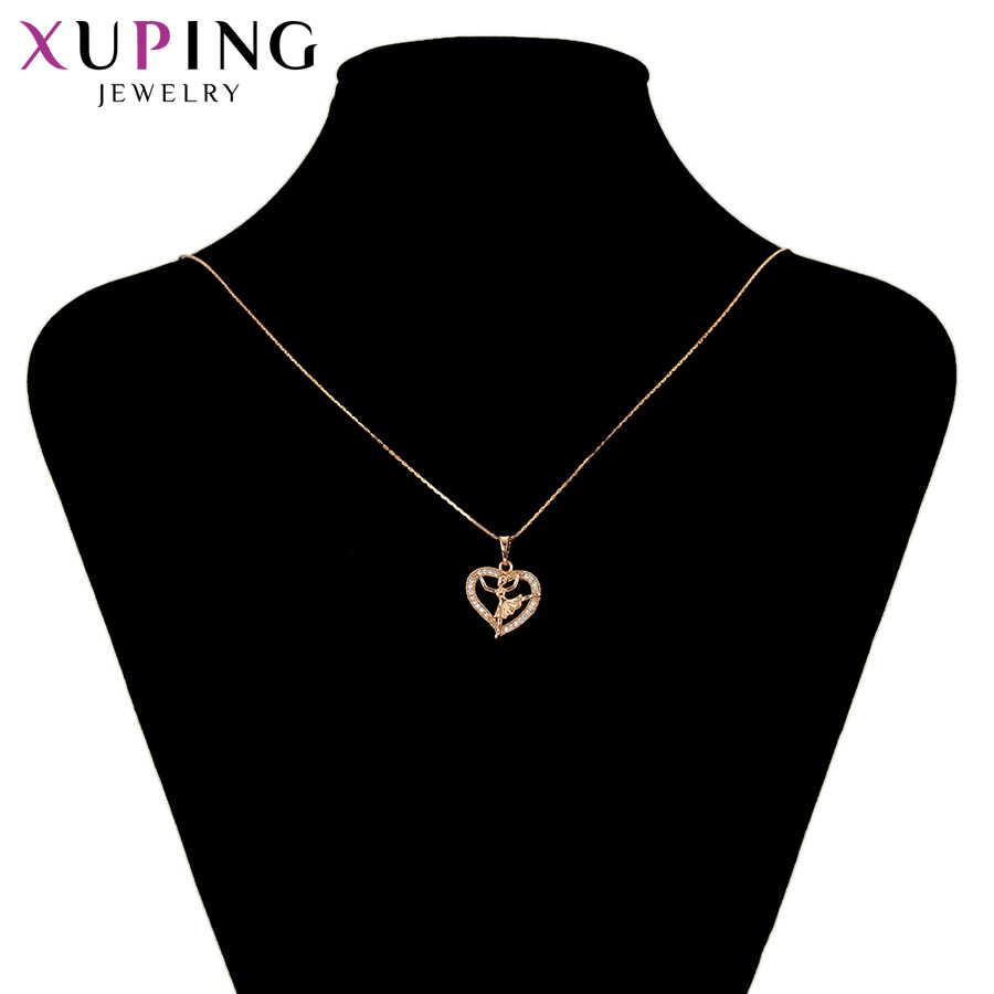 Xuping coeur bijoux Style européen pendentif Styles littéraires pour les femmes mignon noël Thanksgiving cadeaux S49, 6-34501