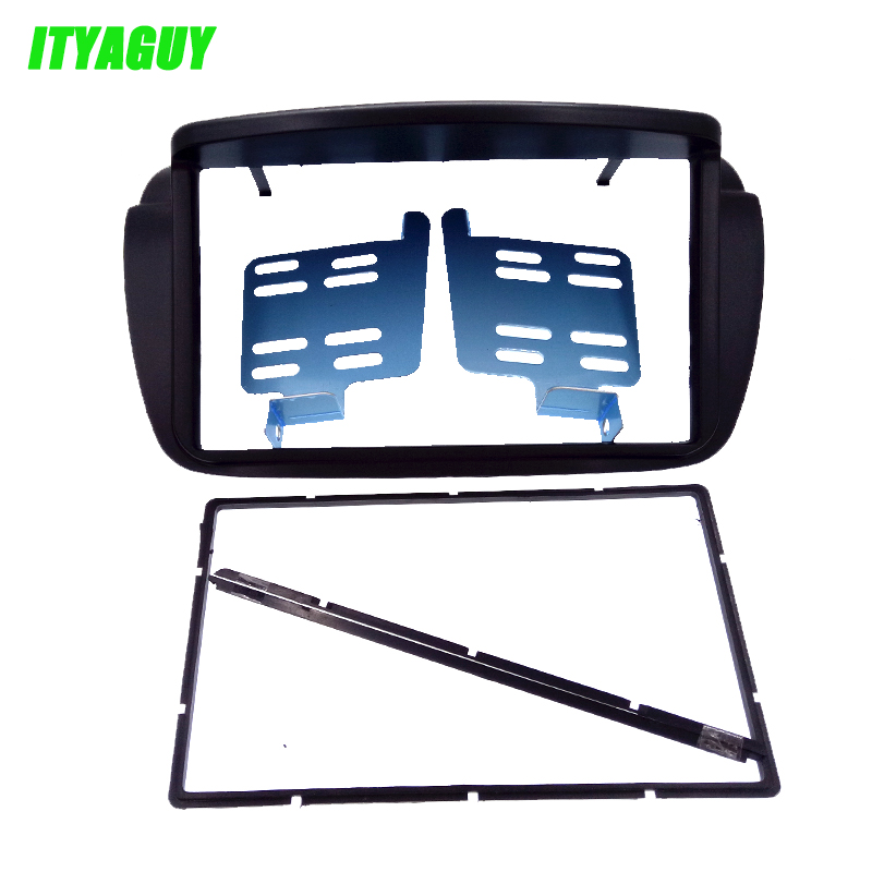 Top Quality 2 Din Car Stereo Fascia for Fiat Doblo 2010+ for Opel Combo Panel Facia Plate Frame Adapter