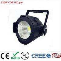 Aluminum Alloy LED Par 120W COB Warm White Cold White 2in1 Stroboflash LED Par Can Par64