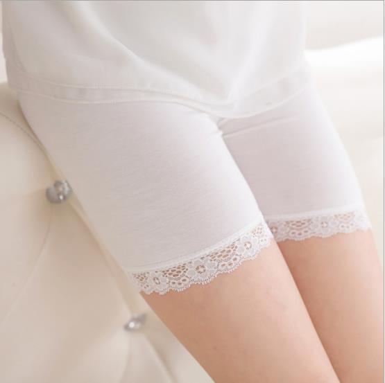 Korean Child Girls   Shorts   Modal Anti Lace Pants Children girls   Shorts   lace   shorts