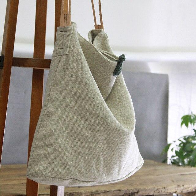 26ffa10c8 2018 mulheres grande lona bolsas sacos artesanais de algodão feminino  casual corpo cruz bolsa de ombro