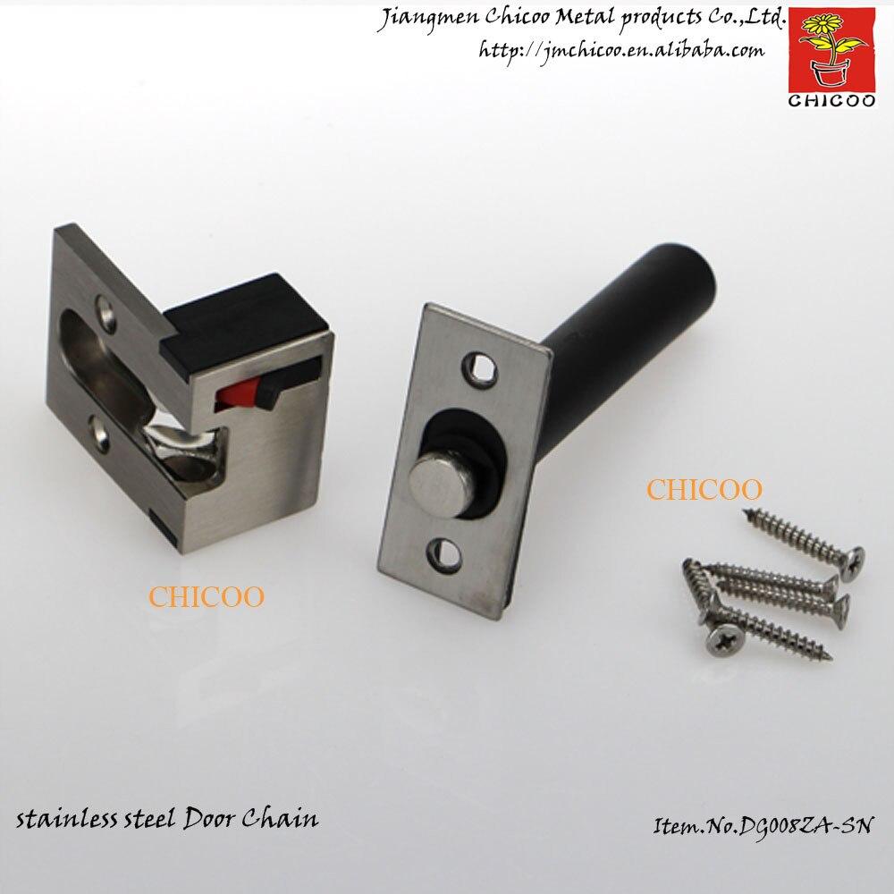 Zinc alloy Satin Nickel Concealed Door ChainDoor Security ChainDoor chain guard for & Popular Door Chain-Buy Cheap Door Chain lots from China Door Chain ... Pezcame.Com