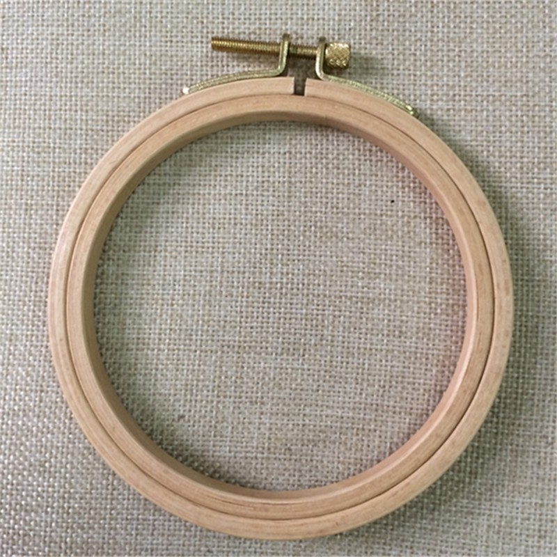 Dia10.5cm Wooden Embroidery Hoops Rack Hand DIY Cross Stitch hoop - Arts, Crafts and Sewing - Photo 1