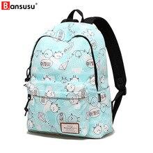 Cartoon Printing Packag Harajuku Waterproof Women Backpacks Fresh School Bag Teenager Girl Preppy  Travel Daily Back Pack Bags стоимость