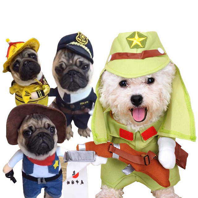 Ropa De Perro Cosplay Para Perros Pequeños Invierno Bulldog Francés