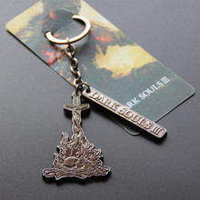 Dark Souls 3 PS4 Metal Game Pendant Figure Hot Toy Limited Collection Promotional Keychain Birthday Gift