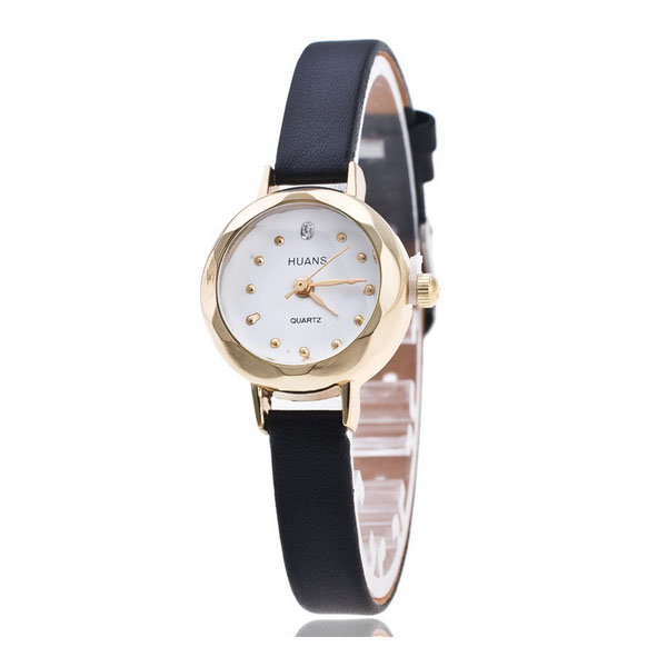 HUANS Fashion Women Band Analog Quartz Business Wrist Watch black/white/brown/pink/red/blue/beige stylish bracelet band women s quartz analog wrist watch coffee golden 1 x 377