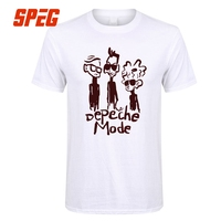Funky Cartoon Dave Gahan Depeche Mode Male Round Neck Short Sleeve T Shirts Crazy Male Cool