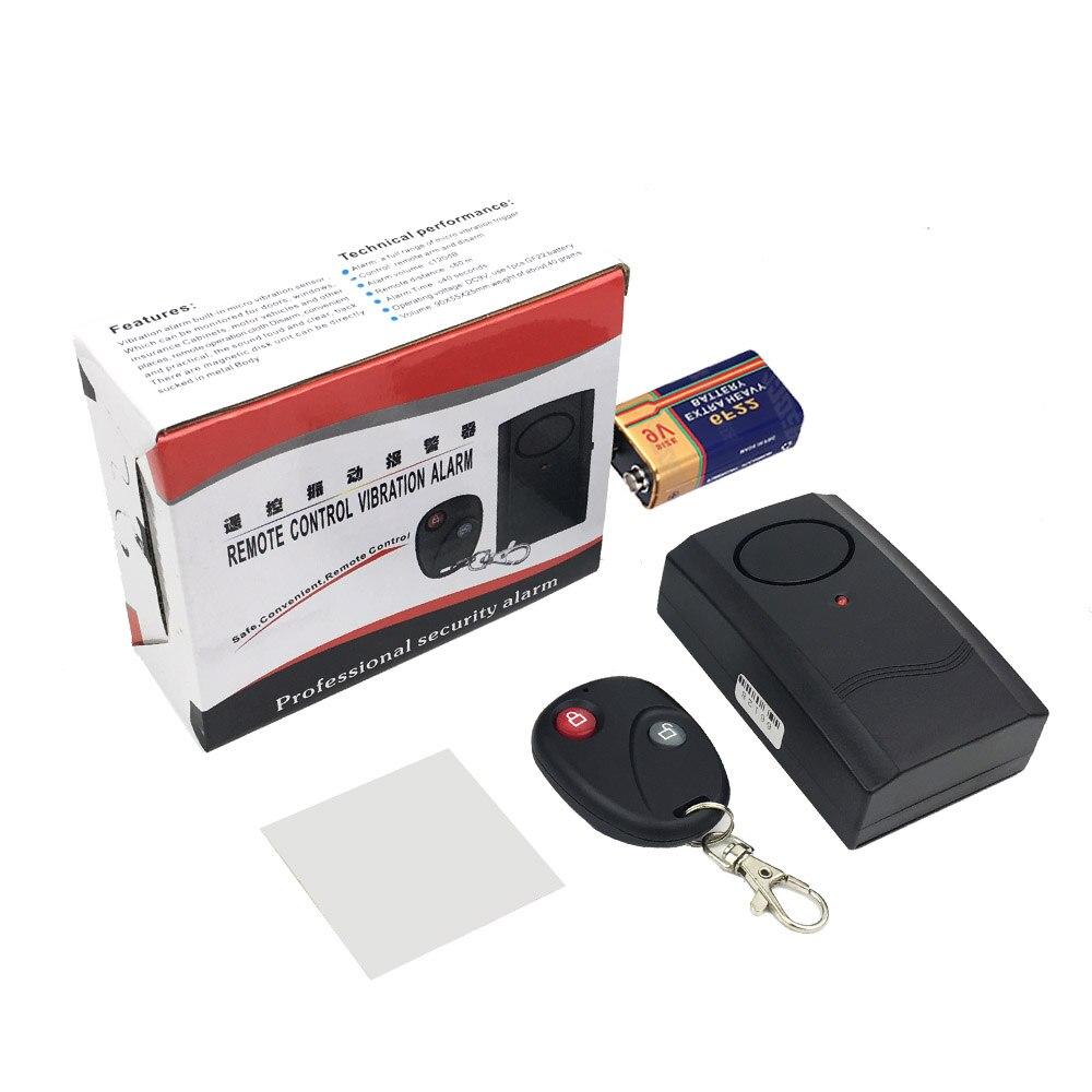 Motorcycle Alarm System Moto Scooter Alarm Wireless Remote Control Vibration Anti-theft Protection Burglar Security Alarm