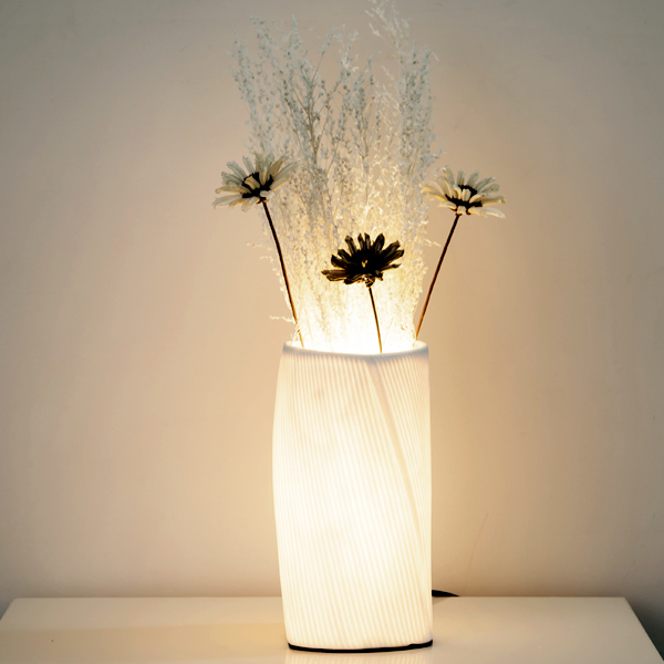 simple E27 ceramic desk lamp decorative DIY white flower table lamps bedroom bedside living room study table light ZA929539 desk lamp table lamps for bedroom study livingroom night light simple and stylish bedside decorative lamp