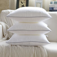 Standard Pillow Cushion Core Cushion Inner Filling Soft Throw Seat Pillow White Cushion Insert for Bed Down Alternative