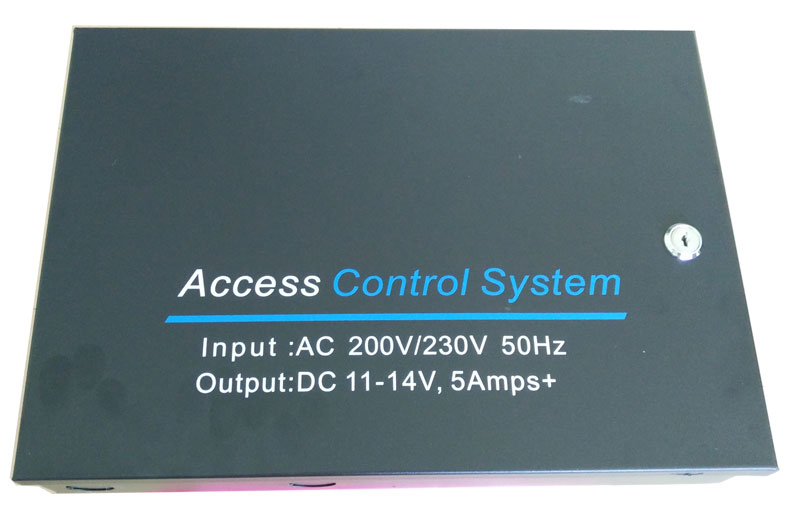 Big Access Power case 220V input Supply 12V5A output  for Access Control, with 12V 7Ah battery space, min:1pcsBig Access Power case 220V input Supply 12V5A output  for Access Control, with 12V 7Ah battery space, min:1pcs