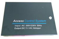 Big Access Power case 220V input Supply 12V5A output for Access Control, with 12V 7Ah battery space, min:1pcs
