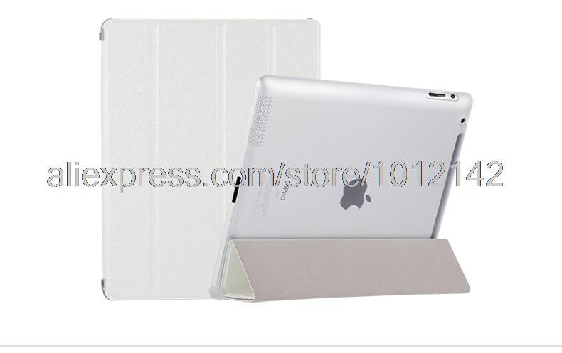 Impecable funda protectora de cuero de lujo para Apple iPad 2 3 4 de - Accesorios para tablets - foto 5
