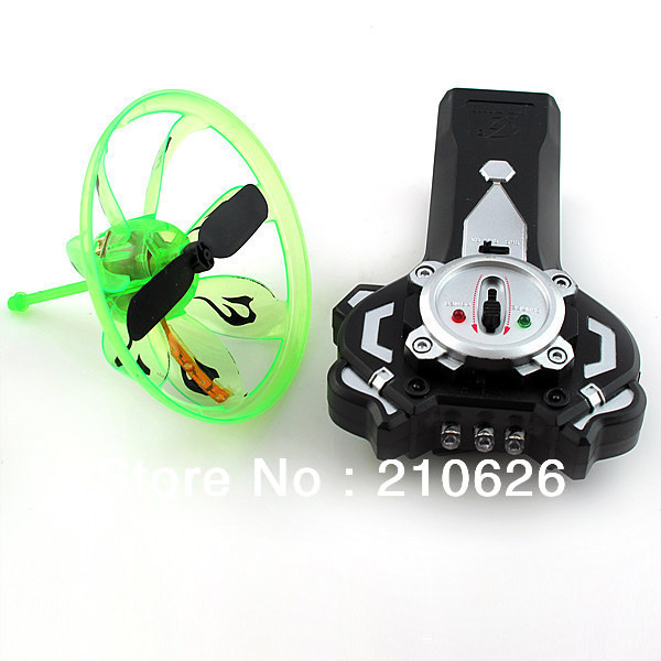 Free Shipping 2 in1 UFO Gyro Dual-use induction infrared radio remote control Plane flash toy for Kid YU0122