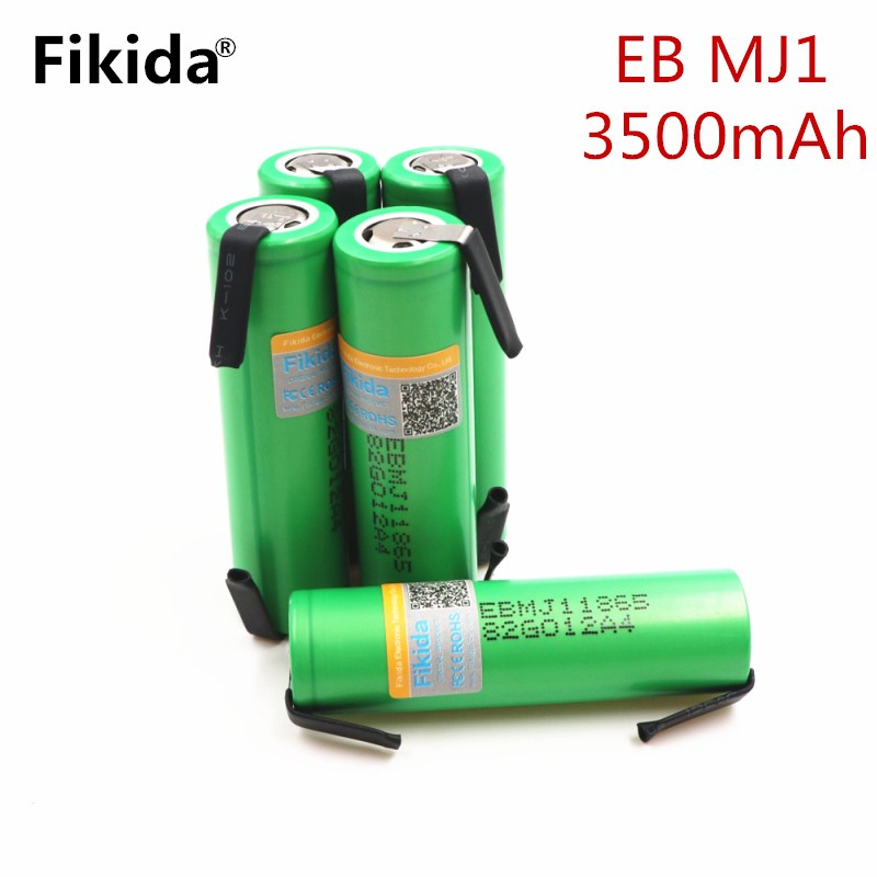 Original Fikida for LG MJ1 18650 battery INR18650MJ1 10A discharge li-iony battery cell 3500mah INR18650MJ1 batteries+DIY nicke replacement 3 7v 3500mah battery pack with back case for lg optimus 2x p990 p993