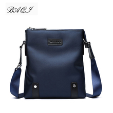 BAQI Brand Men Handbags Oxford Cloth Waterproof Men Shoulder Bag Crossbody Messenger Bags High Quality 2019 Fashion Casual Bag