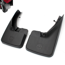 Moonet  Front 2pcs Mud Flaps for Ram1500,2500,3500 Truck Molded Splash Guards Mud Flaps  YMK-F-QD283