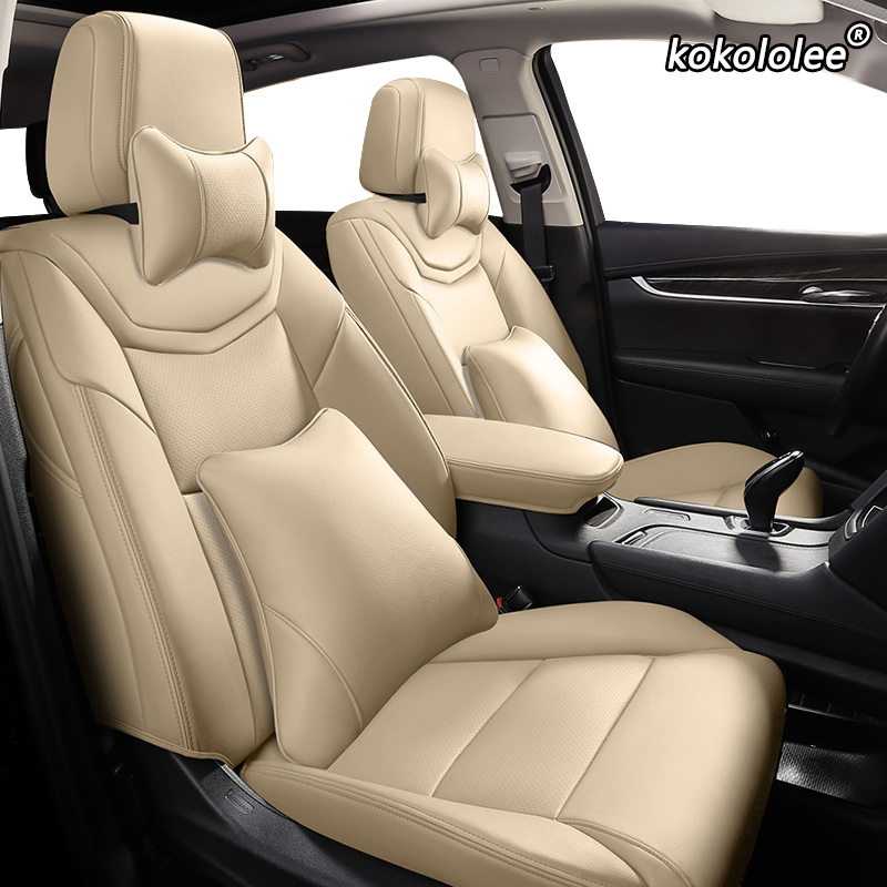 Kokololee Custom Leather Car Seat Cover For Toyota 86 Previa Sienna Venza Fortuner Fj CRUISER MARK IZOA Avalon YARiS Verso VIOS