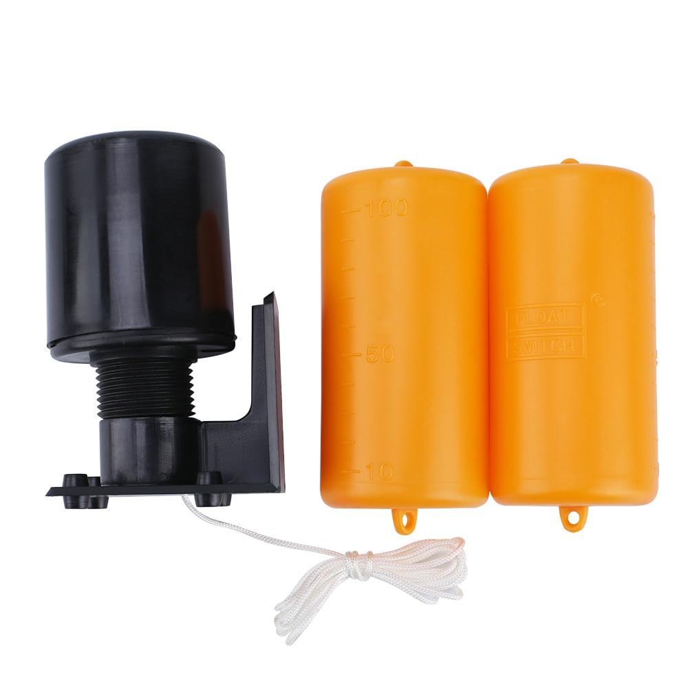 Vente chaude 1.2 m Contrôleur Interrupteur À Flotteur Liquide Commutateurs Liquide Liquide à Flotteur De Niveau D'eau Contrôleur de Commutateur Contacteur Capteur