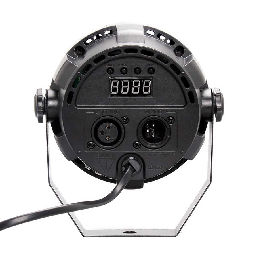Авто звук активных DMX512 подчиненная УФ светодиодный свет этапа светодиодный Par DJ оборудование ультрафиолетового светодиодный этапе номинальной света лампа