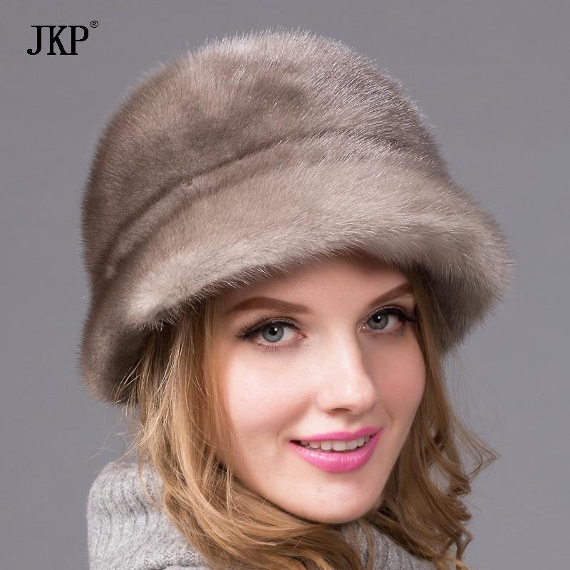Лидер продаж 2017 года модели весь норки кожи меховая шапка отлично yabei Lei Знатная Дама Модные теплая шапка ухо capdhy 57
