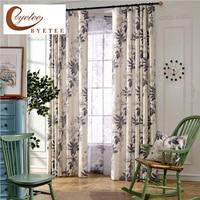 Cotton Linen Cloth Living Room Bedroom Window Blackout Curtains For Cortinas Curtain Fabrics Cortina Drapes Semi