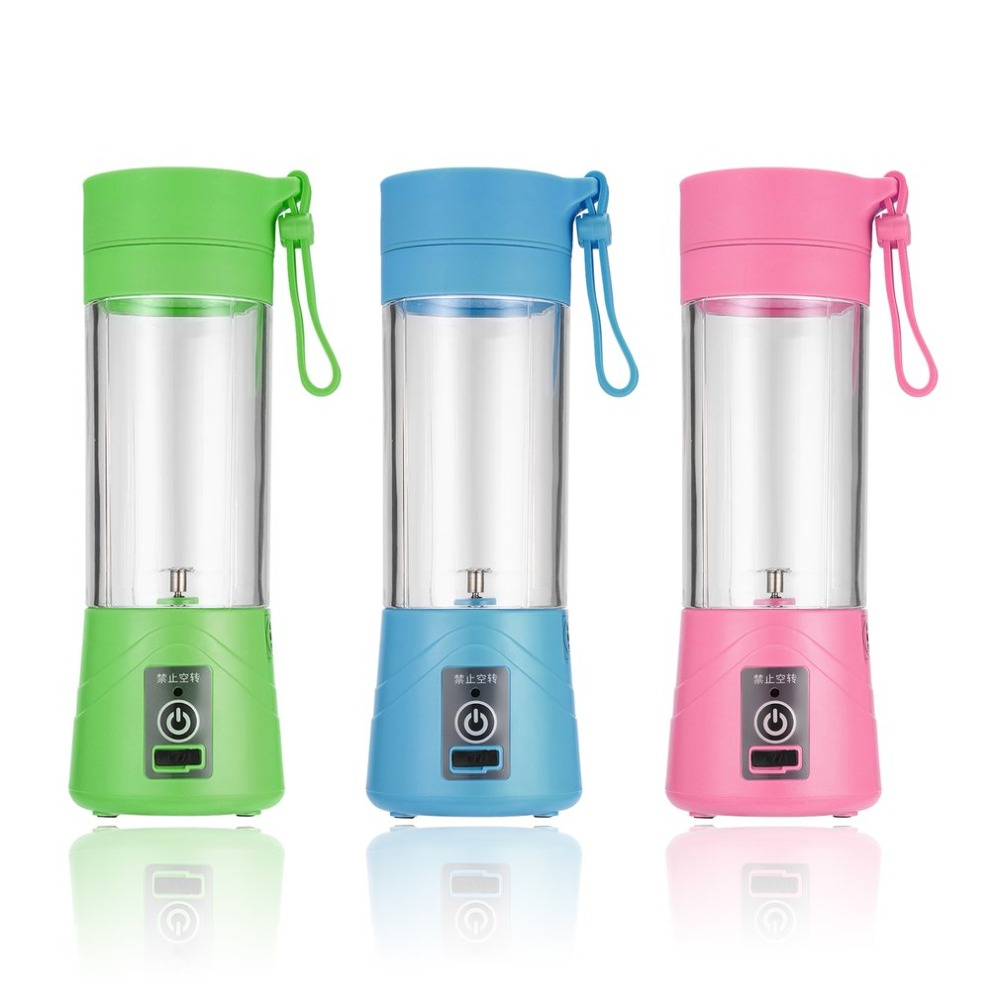 Portable 380ml Electric Fruit Citrus Juicer Blender USB Juicer Bottle Cup Blender Lemon vegetables fruit Squeezers Rechargeable
