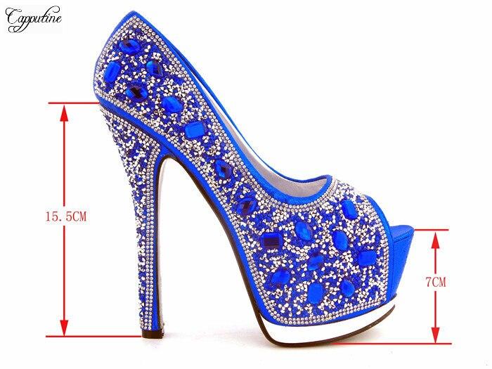En rojo Noche Piedras Azul Bolso Shinning Sandalias Heel Lady La Thin 057 Para Con Y Alta oro Real Zapatos Moda De plata Clase Partido Azul rwUgrxFqP