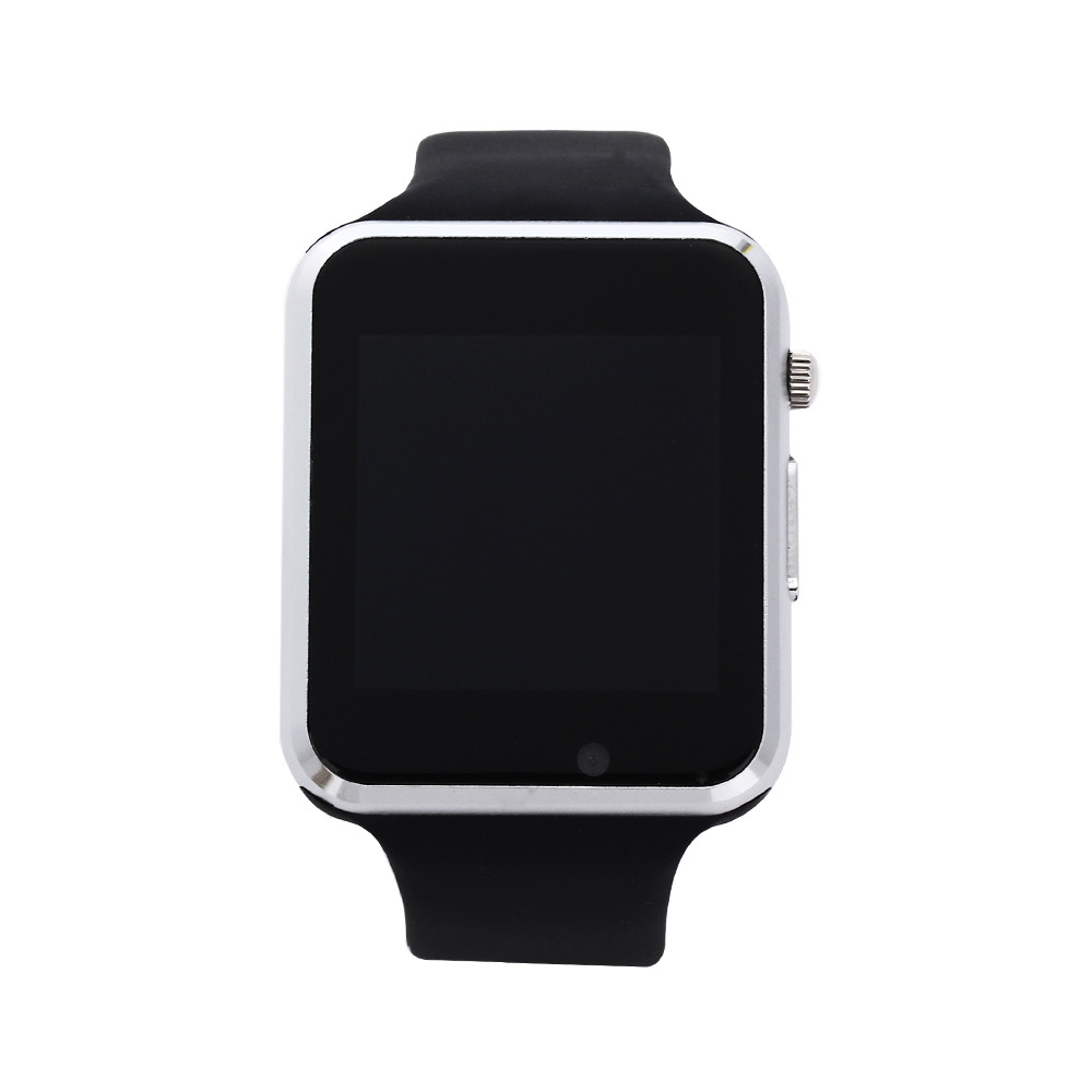 A1 WristWatch Bluetooth Smart Watch Sport Pedometer with SIM Camera Smartwatch For Android white one size 27