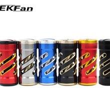 2 шт. EKFan дизайн Алюминиевый сплав Рыболовная катушка ручка для наживки литья Рыболовная катушка и водная капля барабан-колесо