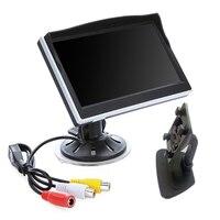 5 5 Inch Digital Car Monitor Mirror Monitor TFT LCD 16 9 Screen Car Rearview