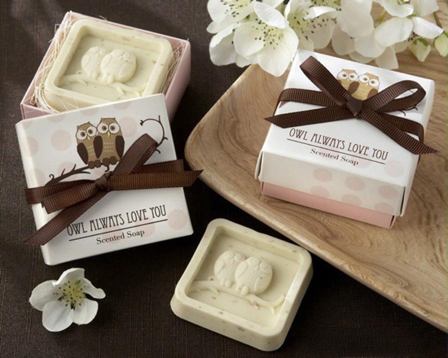 Handmade Owl Design Bath Soap Wedding Valentine Party Love Gift Owl Soap Levert Dropship 3MAR24