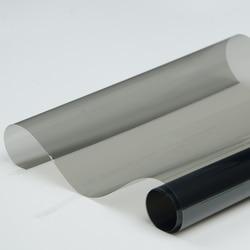 100% SUNICE 50x300cm Zwarte Auto Window Tint 50% VLT voor Car Side Glas Tint zelfklevende nano Keramische Film in Autoruit Folies