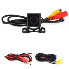 Cámara de visión trasera ccd/SONY CCD de visión Nocturna de color sistema de marcha atrás cámara trasera Inversa cámara universal Ángulo ajustable