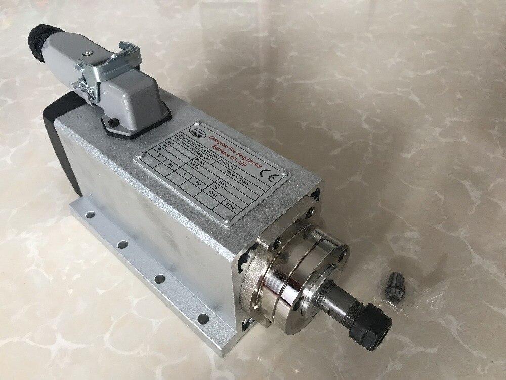 2018 spindel 3KW 220 v Luftgekühlten Spindel Motor CNC Router Werkzeuge VFD Inverter 2 stücke ER20 Spannzange Für millin Maschine