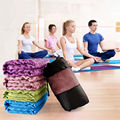 Cubierta antideslizante estera de yoga manta toalla sport fitness ejercicio pilates workout caliente