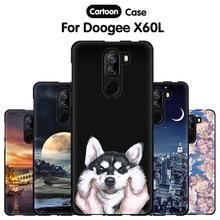 JURCHEN Phone Case For Doogee X60L 5.5