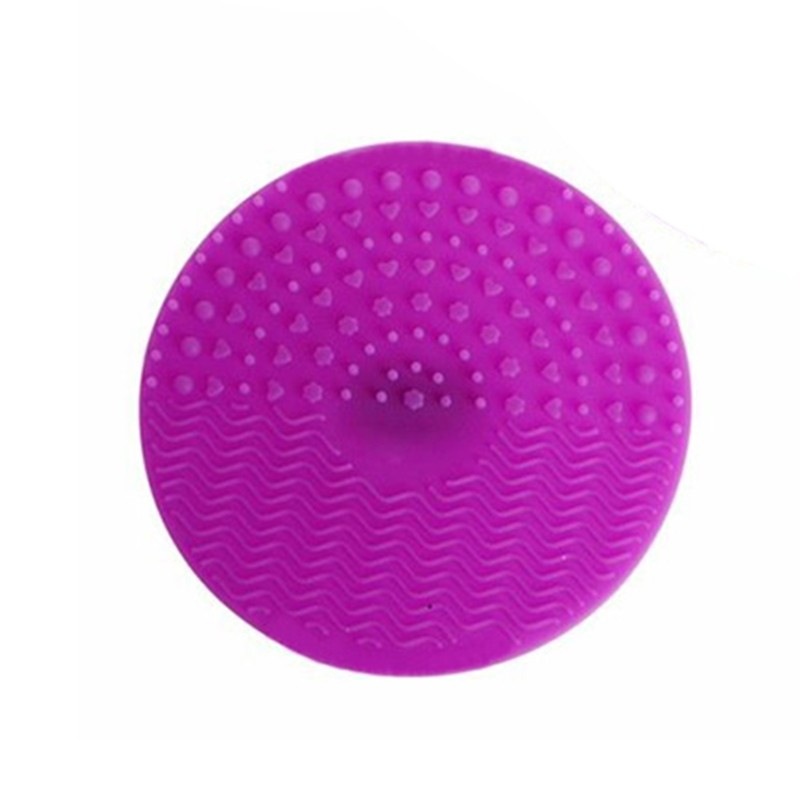 Silicone Makeup Brush Cleaning Mat Professional Cosmetic Brush Pinceles Washing Pad Brush Glove Scrubber with Suction Cup in Eye Shadow Applicator from Beauty Health