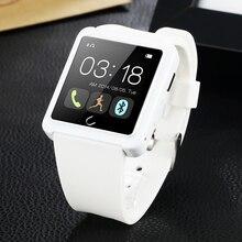 FLOVEME De Luxe Bluetooth Montre Smart Watch Pour Andriod IOS Montre Smart Watch D2 Touchpad Passometer Portable Appareils Électroniques Smartwatch