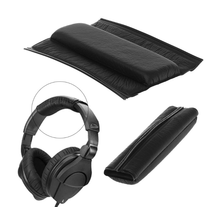OOTDTY 1 Set Replaced Leather Headset Earpads Ear Cushions Cup Headband Cover for <font><b>Sennheiser</b></font> <font><b>HD280</b></font> <font><b>Pro</b></font> Headphones Accessories image
