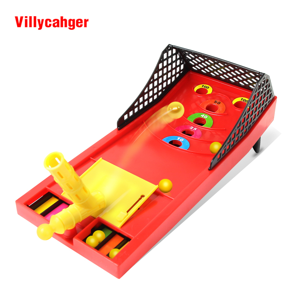 Mini Ball Shooting Game Toys Family Sport Game Multiplayer Montessori Toys Funny Desktop Parents-child Game Outdoors Kids Toy